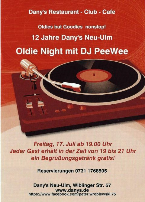 2. OldieNight im Dany/s!
